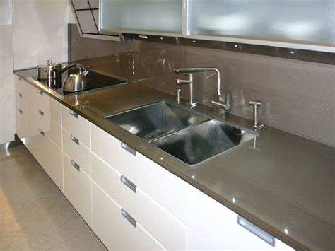 Painted Glass Countertops by Glass Countertops Glass Backsplashes Were Made For Each