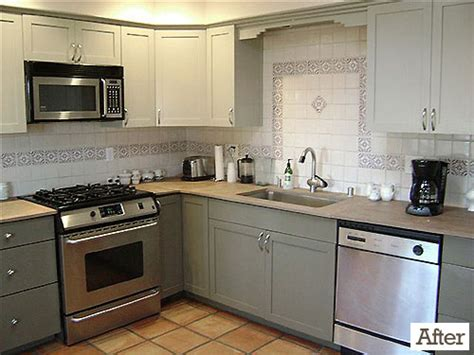 how to paint cheap kitchen cabinets a collection of home makeovers that we ve completed virtually and in the flesh