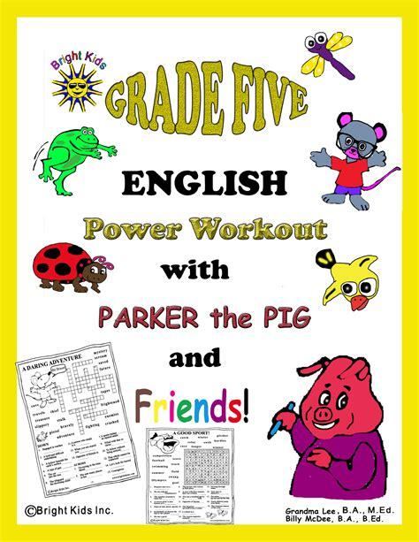 english themes for grade 5 grade 5 english word power workout