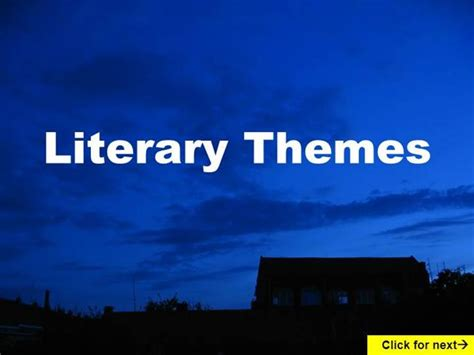 theme in literature powerpoint high school literature review ppt template 100 original