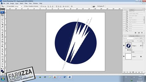 cara membuat logo windows di photoshop tutorial photoshop cara membuat simple logo dengan cepat
