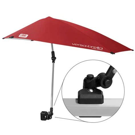 boat umbrella west marine pro performance sports sport brella versa brella fire red
