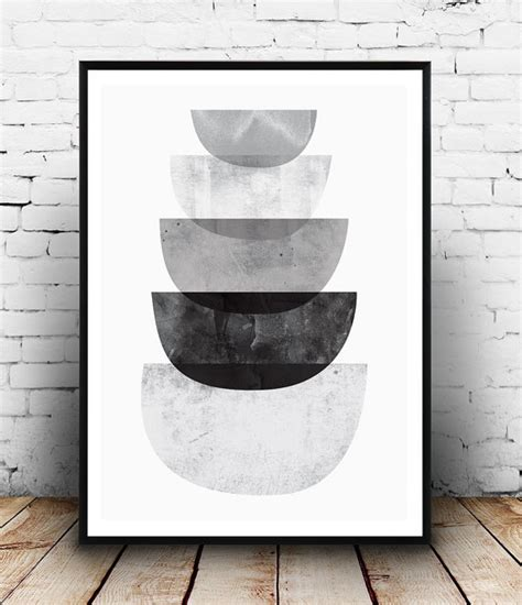 black white abstract decorative art posters at monochrome art black and white print abstract poster