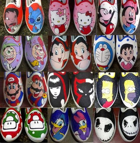 Sepatu All Lukis aksesories