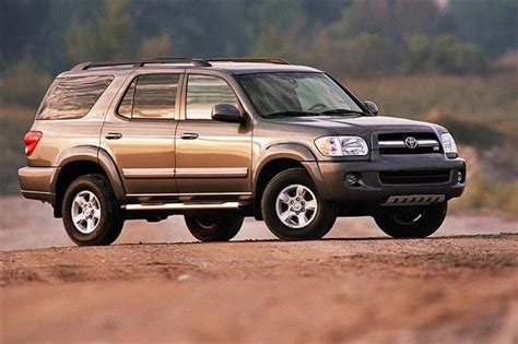 2001 toyota sequoia reviews used vehicle review toyota sequoia 2001 2007 autos ca