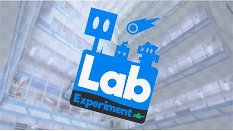 experiment design for lab lab experiment roblox
