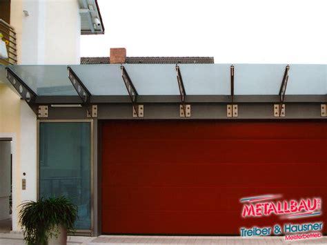vordach garage metallbau treiber hausner 220 berdachung giebeldach