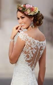 Elegant plus size lace wedding dresses vintage beach bridal gowns with