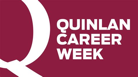 Quinlan Mba Calendar by Archive Quinlan Career Week September 2017 Quinlan