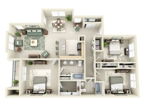 3 bedroom apartments dallas plantas de casas 100 modelos gr 225 tis para voc 234