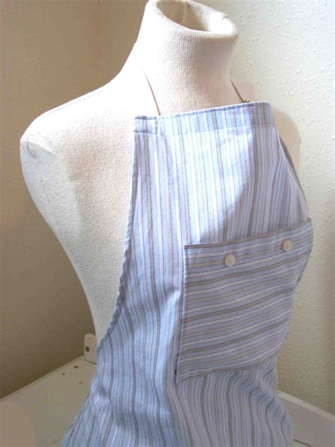 pattern for apron from men s shirt made by me shared with you tutorial men s shirt to