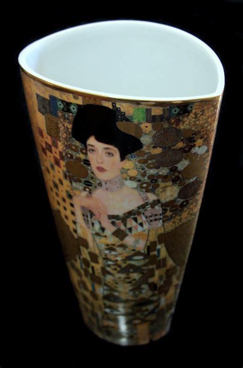 Gustav Klimt Vase by Gustav Klimt Porcelain Vase Ad 232 Le Bloch Bauer