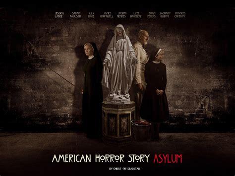 american horror story season 6 posters theme rumors teaser promos updated 9th september ahs asylum wallpaper by on deviantart