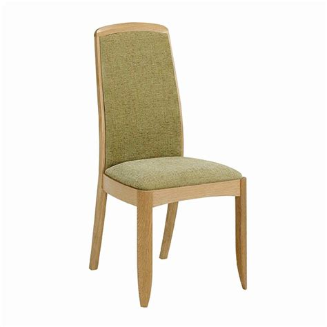 nathan shades in oak fully upholstered dining chair