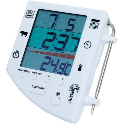 Termometer Oven Digital 3 in 1 digital roast and oven thermometer sunartis e341 from conrad electronic uk