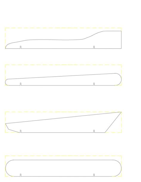 templates for pinewood derby cars free pinewood derby car template template business