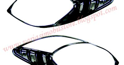 List Kaca Belakang Chrome Yaris Kikim Variasi Cover Headl New Yaris 2008 Variasi Mobil