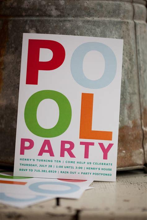 swimming party invitations bezpeka home com