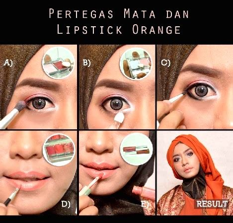 Tutorial Eyeshadow Wardah Coklat tips cara make up wardah yang simpel dan praktis