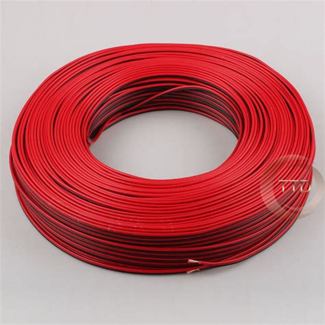 18 3 electrical wire 1m 2m 3m 5m 10m 18awg 2pin black cable pvc insulated