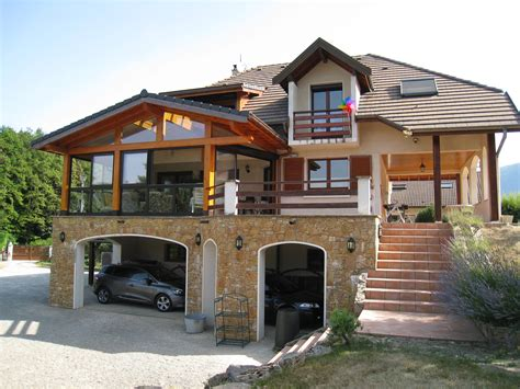 costruire veranda v 233 randa leymarie 224 poisy construction ossature bois