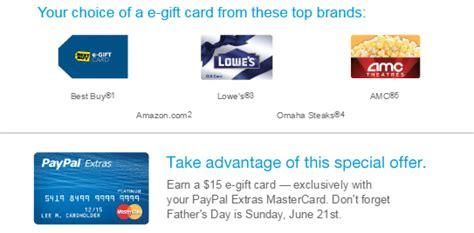 Paypal E Gift Card - paypal extras mastercard ways to save money when shopping