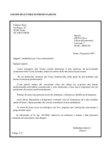 lettere di presentazione lavoro lettera di presentazione dello studio rspp aniag