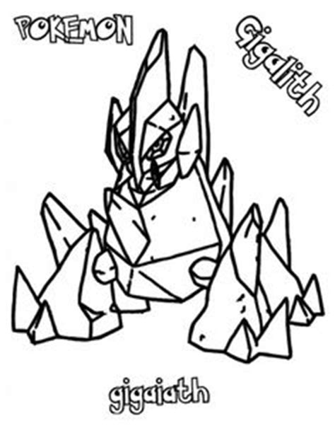 pokemon coloring pages gigalith 1000 images about pokemon coloring pages on pinterest