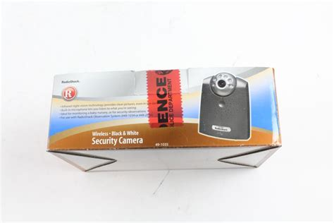 radio shack security cameras about