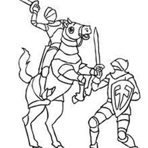 caballero infantil caballero fantasia dibujo projecte dibujos para colorear 2 caballeros es hellokids com