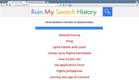 Search History Clicking This Website S Search Button Can Put You On A Government List