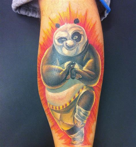 kung fu panda tattoo venice tattoo art designs