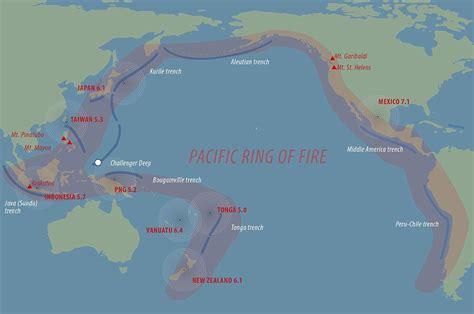 earthquake agung fears rise as killer quakes hit the pacific ring of fire