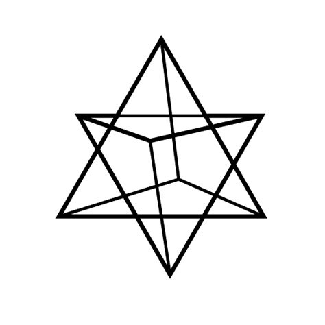 printable star tetrahedron quilt coloring page