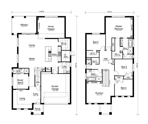 double story house plans free free double storey house plans south africa escortsea