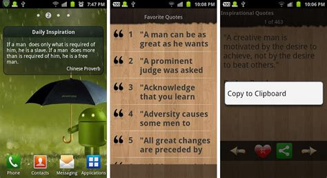 Android Quotes by Best Inspirational And Motivational Apps For Android