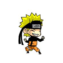 membuat slideshow gif dp bbm gif animasi bergerak naruto thank you kupu kupu