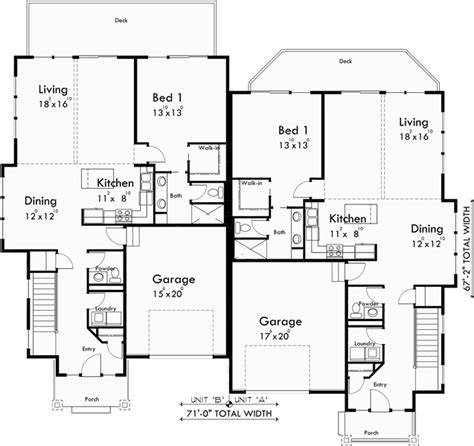 luxury duplex house plans craftsman duplex house plans luxury duplex house plans