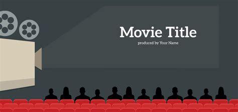 my movie presentation template sharetemplates