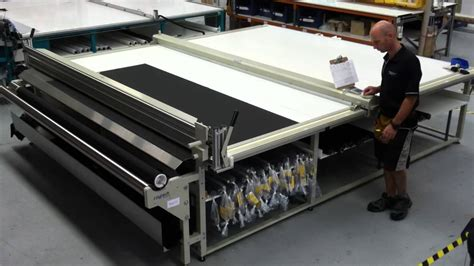 fabric cutting table for sale quality raytech r3100 cutting table for roller blinds