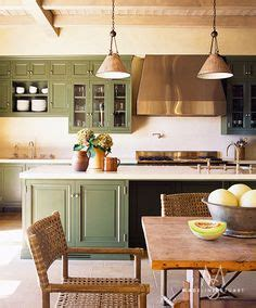 Olive Garden Fuqua by Kitchens Blue Green Cabinets On Green
