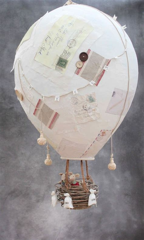 Make A Paper Balloon - how to make a papier m 226 ch 233 air balloon diy
