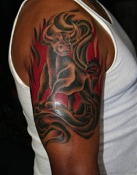 tattoo designs taurus bull 100 excellent zodiac taurus tattoos for shoulder