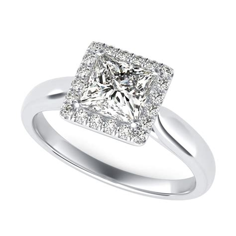 halo engagement ring sku pr1501