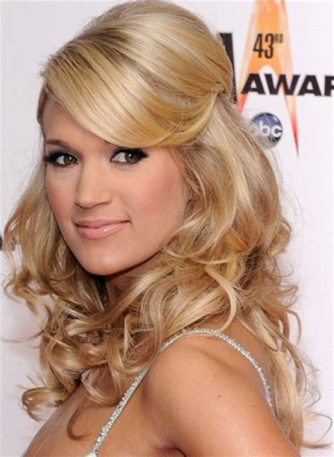 hairstyles down there 20 beautiful half up curly hairstyles every lady should
