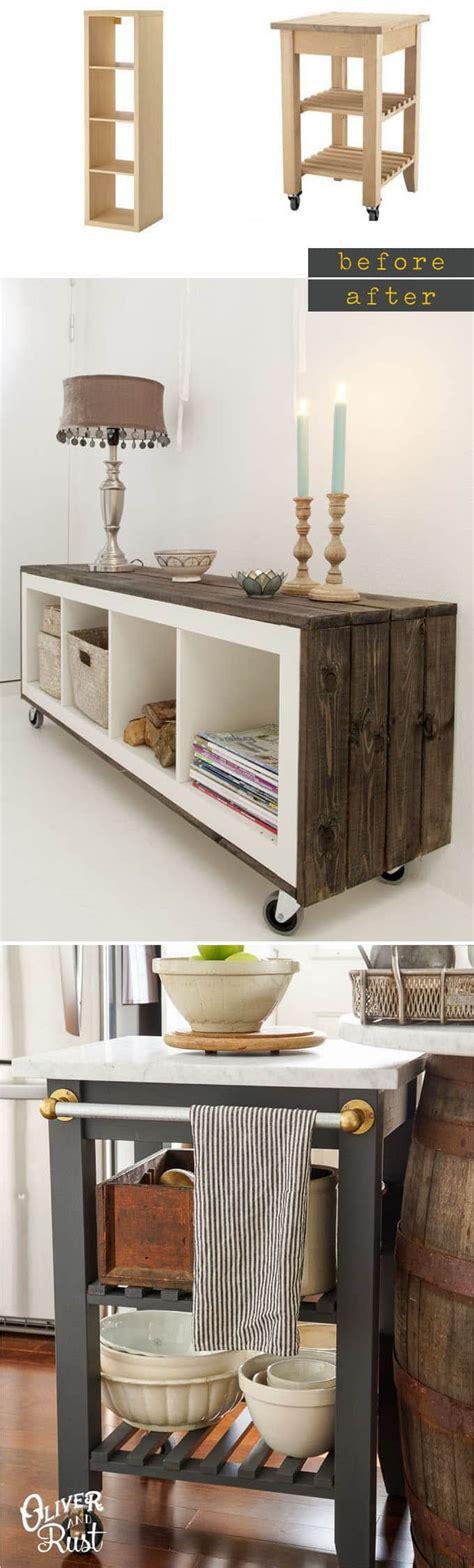 ikea furniture hacks easy custom furniture with 18 amazing ikea hacks a
