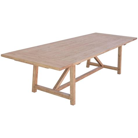 large pine farm table at 1stdibs large farm table with extensions in vintage reclaimed pine custom built for sale at 1stdibs