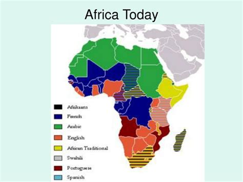 africa map today ppt do chapter 16 section 3 independence in africa