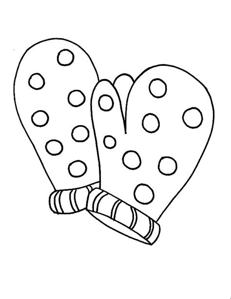 mitten coloring page m is for mittens coloring pages color