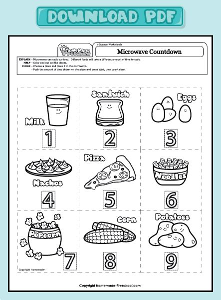 preschool science worksheets free printables preschool science worksheets images